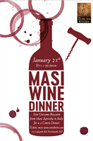 MASI 4-Course Wine Dinner