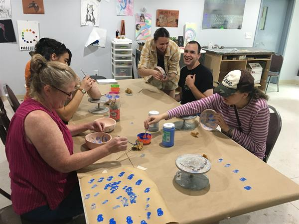 Arts and Crafts in our day program