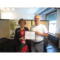 Congratulations Paul Muckerheide of Granite State HydroShield on your 5 Year Chamber Anniversary!