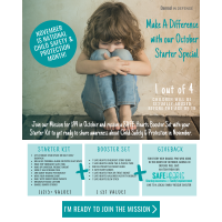 Damsel in Defense - November is National Child Safety & Protection Month