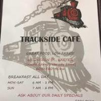 Trackside Cafe Now OPEN Wednesday - Sunday 6:00 am - 1:00 pm!