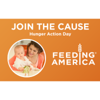 Plexus - Join the Cause - Hunger Action Day  is TODAY - Feed America