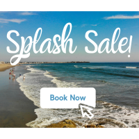 Ashworth by the Sea - Splash Sale - SAVE 50% Off Two or more nights when you stay Sunday-Thursday. Valid on stays now through November 30!