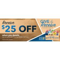MVC Eye Care - Give & Receive Food Drive - Help Make A Difference & Save...
