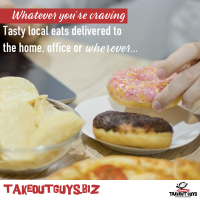 Take Out Guys - Delivery to the Home, Office or Wherever - Whatever You're Craving!