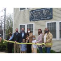 Ribbon Cutting Celebration for Great Bay Acupuncture