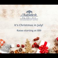 AShworth by the Sea - Christmas in July at Hampton Beach