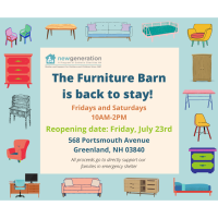 New Generation - Community News  - The Furniture Barn is Back to Stay!