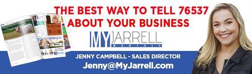 Email jenny@myjarrell.com for advertising info!