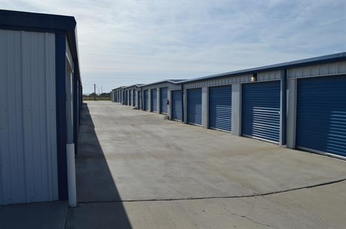Drive-Up Self Storage Units, Various Sizes
