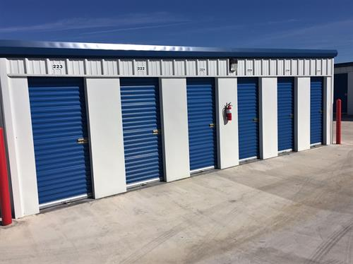 Drive-Up Mini Storage Units, Various Sizes