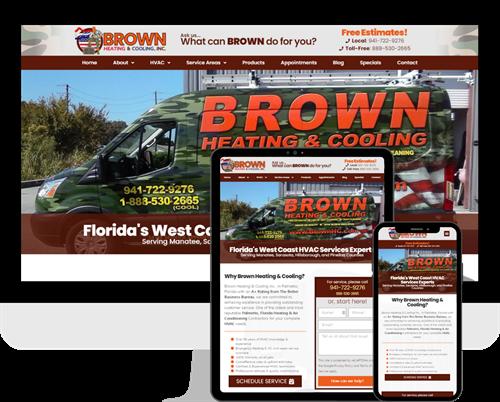 Brown HVAC