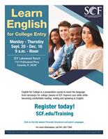 SCF - English for College and Communication