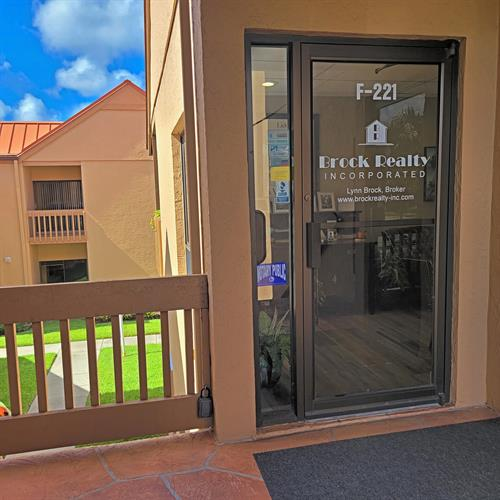 Brock Realty Front Door