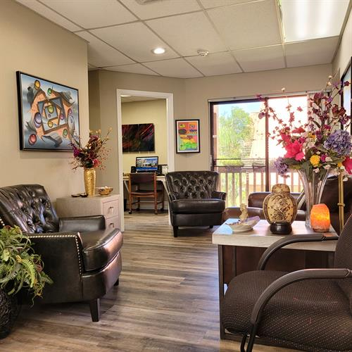 Brock Realty Office Greeting Area