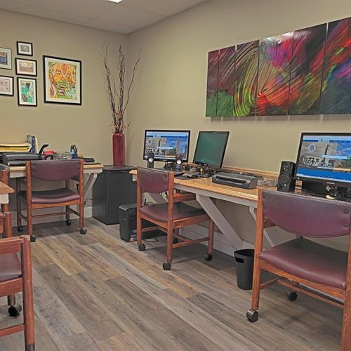 Brock Realty Work Room