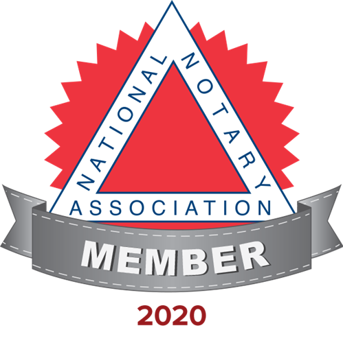 Certified and Member, National Notary Association
