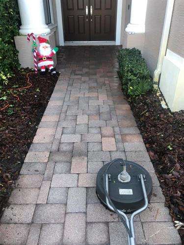 A renewed driveway