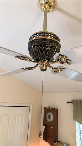 Anniversary edition Hunter ceiling fan install