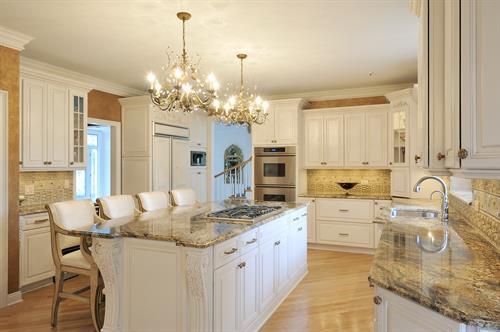 Custom lighting for kitchen remodel