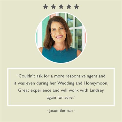 My clients are wonderful to work with and I appreciate the fabulous review!