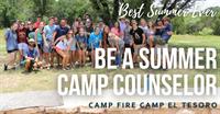 Camp Fire First Texas Camp El Tesoro