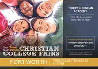 Christian College Fairs- Fort Worth Event- Hosted by TCA