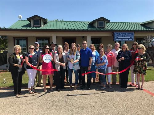 Ribbon Cutting Ceremony for the EPC Chamber!