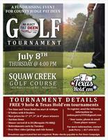 Re-Elect Pat Deen for County Judge Golf Tournament