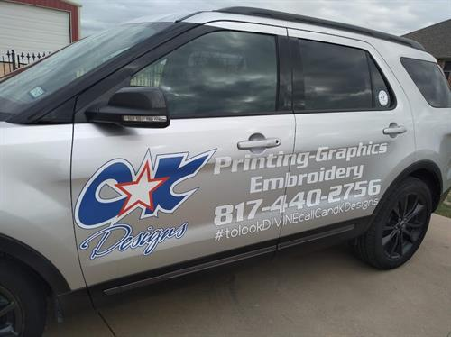 Vehicle Graphics/Lettering