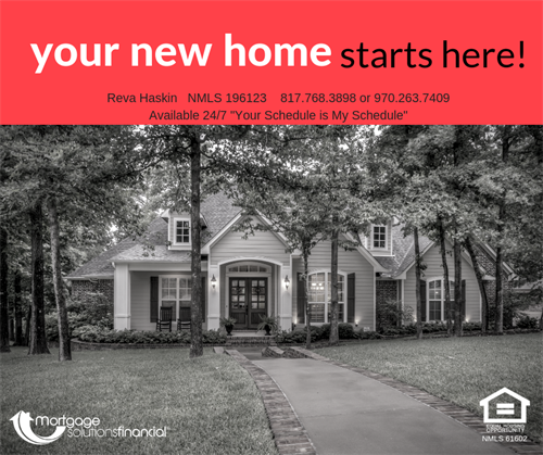 Your New Home Starts Here!
