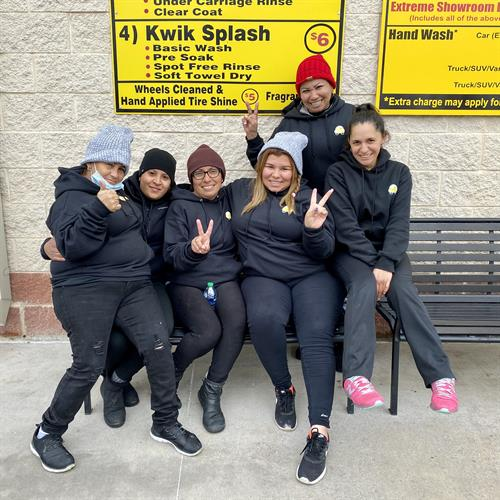 """Part of our detail team! Norma, Nelva, Claudia, Gaby, Jacquline, and Elisa will get your vehicle, """"Good to go!"""""""