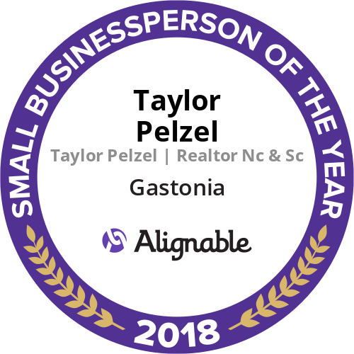 Alignable Gastonia's Smal Businessperson of the Year Award