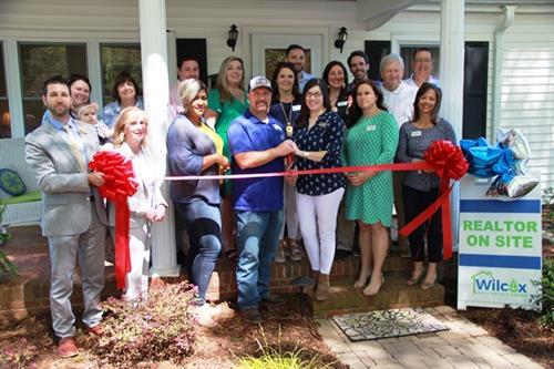 Ribbon Cutting Event Wilcox Real Estate