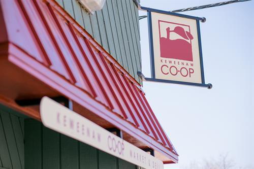 Keweenaw Co-op Sign/Exterior