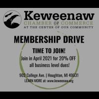 Membership Drive:  4/2/2021