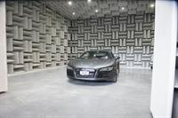 Audi R8 in the Anachoic Chamber