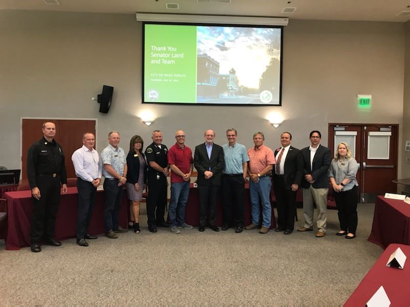 Image for Senator John Laird Visits Paso Robles: Chamber Hosts Meet and Greet