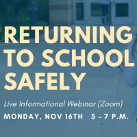 Webinar: Returning to School Safely