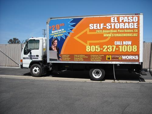 Facility Move In Truck