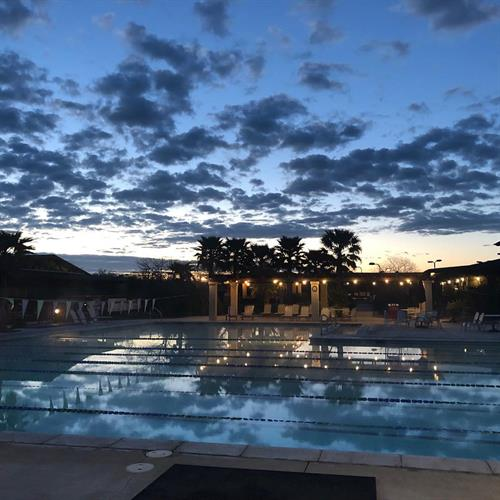 Sunrises are the best at Paso Robles Sports Club!