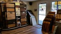 A terrific selection of laminate flooring.  There is something for everyone!