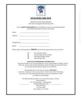2018 Membership Form