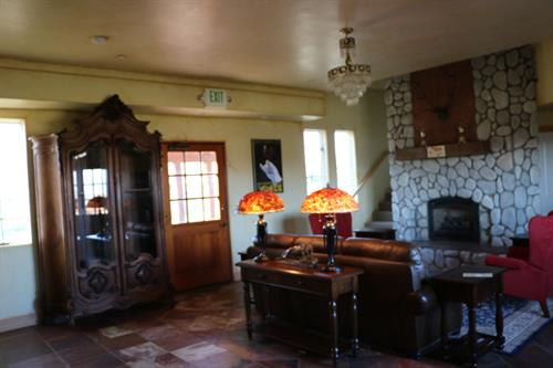 The interior of our beautiful suites at the vineyard.