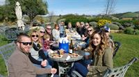 Lunch Al fresco at Calcereous WInery...ask us about our catered picnics!