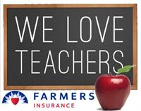 We Love Teachers, Check in with Farmers for Discounts