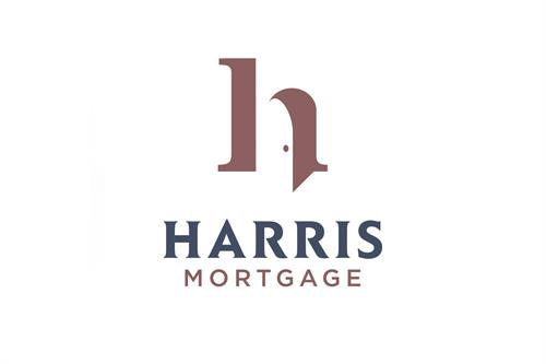 Harris Mortgage Logo Design and Brand Identity