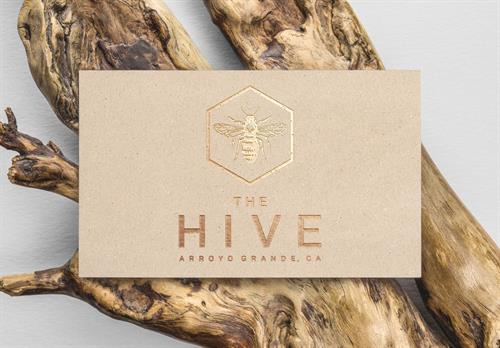 The Hive Logo Design