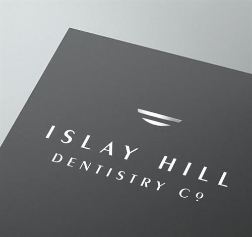 Islay Hill Dentistry Co. Logo Design and Brand Identity