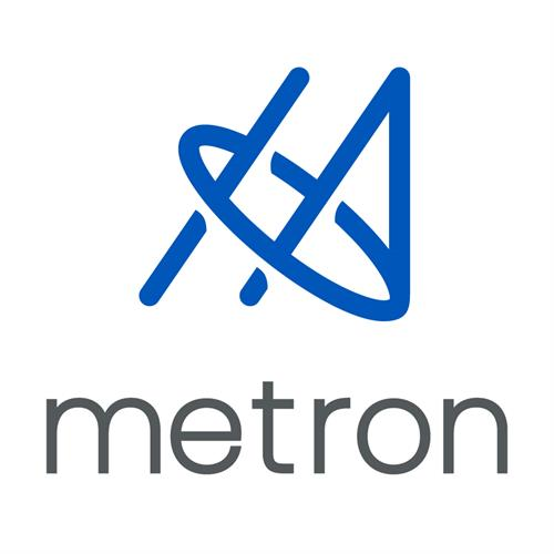 Metron Logo Design